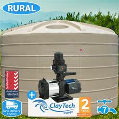 22700L Round Tank w/ Inox 230A Pump