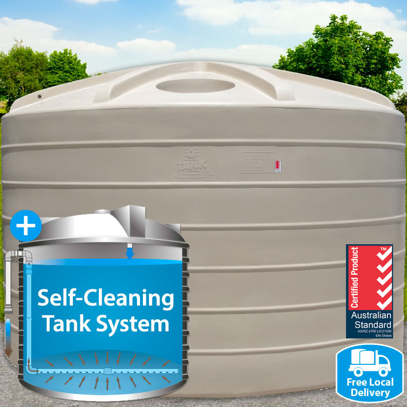 22,700L Self-Cleaning Tank