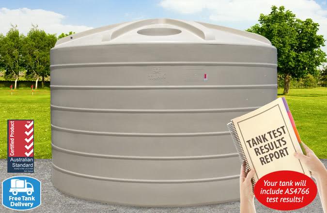 5,000 Gallon Tank w/ Report