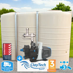 5000l Slimline Tank w/ CMS4A Rainwater Management System