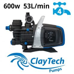 ClayTech C4 Rainwater Pressure Pump External Jet