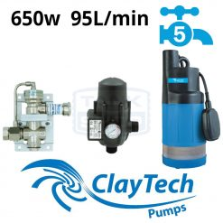 ClayTech CMS8A In-Tank Rainwater Management System Rain-to-Mains Switch