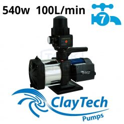 ClayTech Inox 230A Rainwater Pressure Pump External Multi-Stage