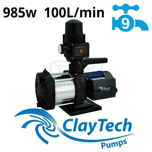 ClayTech Inox 250A Rainwater Pressure Pump External Multi-Stage