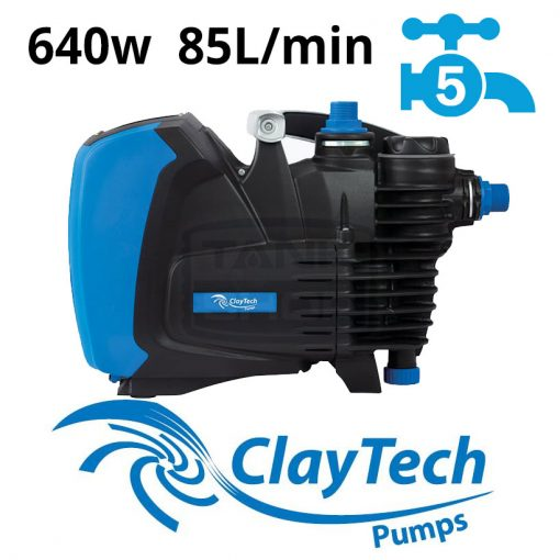 ClayTech ePump Rainwater Pressure Pump External Multi-Stage