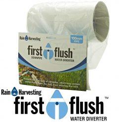 100mm Downpipe First Flush Water Diverter (Rain Harvesting)
