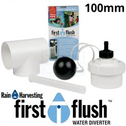 Downpipe First Flush Water Diverter (Rain Harvesting)