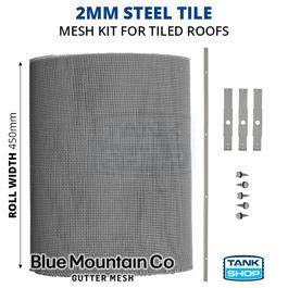 2mm Steel Tile Gutter Mesh