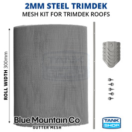 2mm Steel TRIMDEK Gutter Mesh