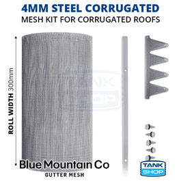 4mm Steel Gutter Mesh for Corrugated Roofs