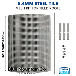 5.4mm Steel Tile Gutter Mesh