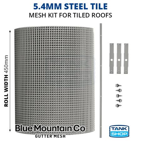 5.4mm Steel Tile Gutter Mesh