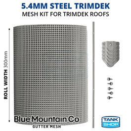 5.4mm Steel TRIMDEK Gutter Mesh