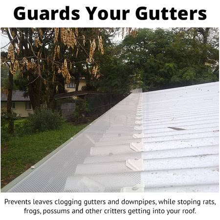 BMC Gutter Mesh - Guards Your Gutters