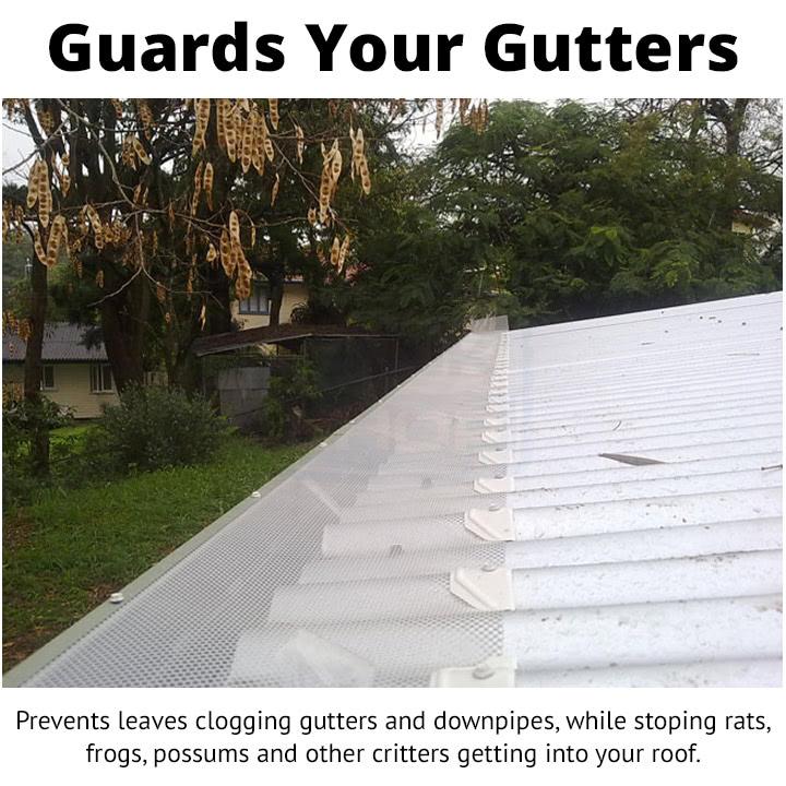 BMC Gutter Mesh - Guards Your Gutters