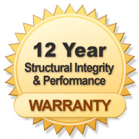 12 Year Warranty - Blue Mountain Mesh