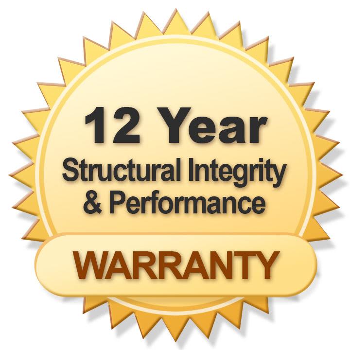 12 Year Warranty - Blue Mountain Mesh