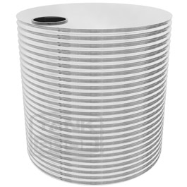 Round Stainless Steel Tanks