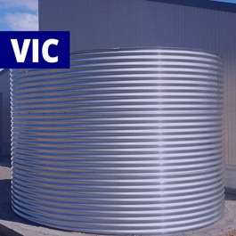Round Stainless Steel Tanks (Victoria)