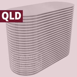 Slimline Stainless Steel Tanks (Queensland)