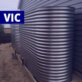 Slimline Stainless Steel Tanks (Victoria)