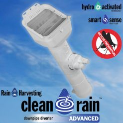 Clean Rain Advanced Downpipe Diverter - Rain Harvesting