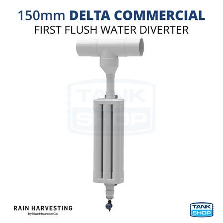 150mm Delta Commercial First Flush Diverter
