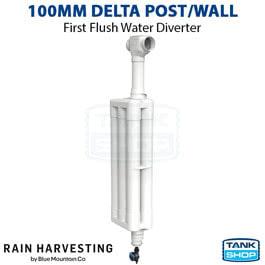 100mm First Flush Delta Post/Wall-100mm (WDPW10)