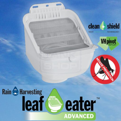 "Leaf Eater ""Advanced"" Rain Head - Rain Harvesting"
