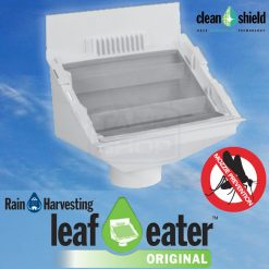 "Leaf Eater ""Original"" Rain Head w/ Clean Shield - Rain Harvesting"