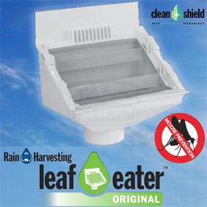 "Leaf Eater ""Original"" Rain Head w/ Clean Shield - Rain Harvesting"