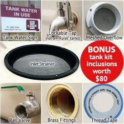 Q Tank Fittings & Accessories Kit (Domestic)