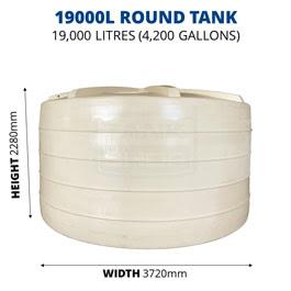 19000L Round Poly Tank (QTank)