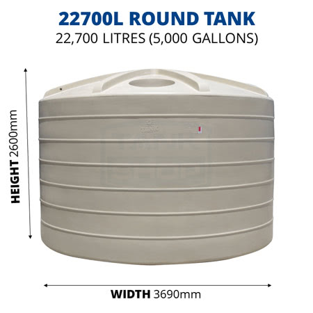 22700L Round Poly Tank (QTank)