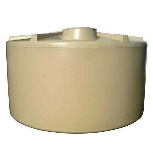 Q Tank 10000 litre Rural Poly Rainwater Tank - Smooth Cream