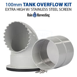 100mm Extra High Tank Overflow Kit (TATO23)