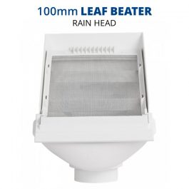 Rain Harvesting 100mm Leaf Beater Rain Head