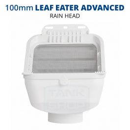 Rain Harvesting 100mm Leaf Eater Advanced Rain Head