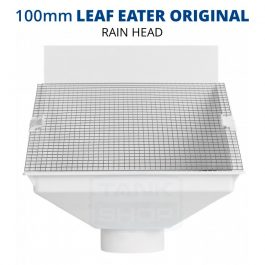 Rain Harvesting 100mm Leaf Eater Original Rain Head