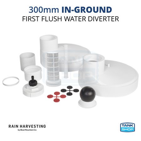 Rain Harvesting 300mm In-Ground First Flush Water Diverter