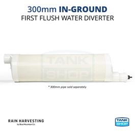 Rain Harvesting 300mm In-Ground First Flush Water Diverter