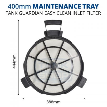 Rain Harvesting 400mm Tank Maintenance Tray dimensions