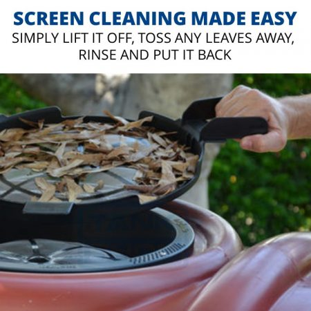 Rain Harvesting Tank Maintenance Tray - screen cleaning made easy