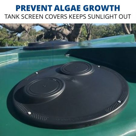 Rain Harvesting Tank Cover - keeps out sunlight, prevents algae