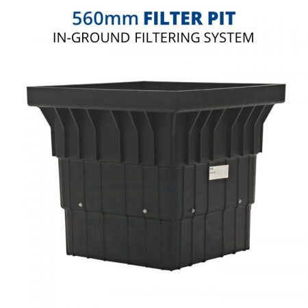 Rain Harvesting 560mm Filter Pit In-Ground Filtering System TAFP01