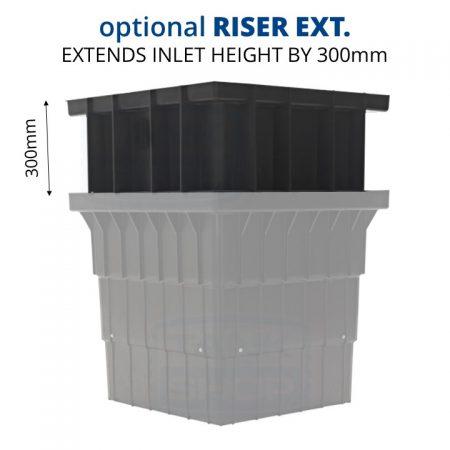 Rain Harvesting 700mm Filter Pit Optional Riser Extension TAFP06