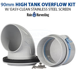 90mm Easy-Clean High Tank Overflow Kit (TATO31)