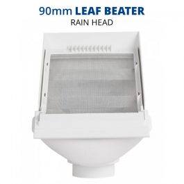 Rain Harvesting 90mm Leaf Beater Rain Head