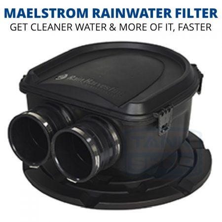 Rain Harvesting Maelstrom Filter