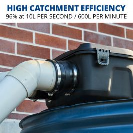 Rain Harvesting Maelstrom Filter - high catchment efficiency
